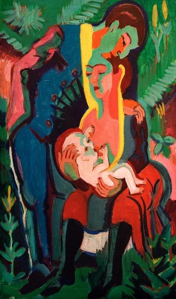'Die Familie', Ernst Ludwig Kirchner