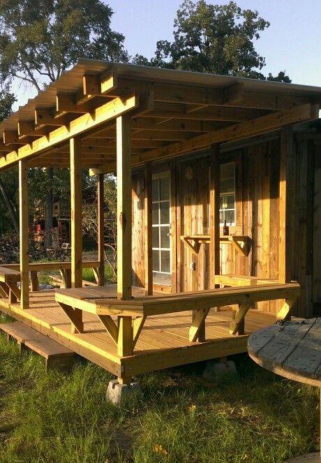 how to build a shack in the bush