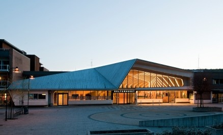 Vennesla cutlure & library house, Norway