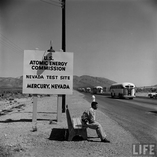 vintage las vegas atomic bomb tests | The Nevada Test Site: America's Nuclear Playground