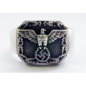 WW II German Nazi Silver Ring
