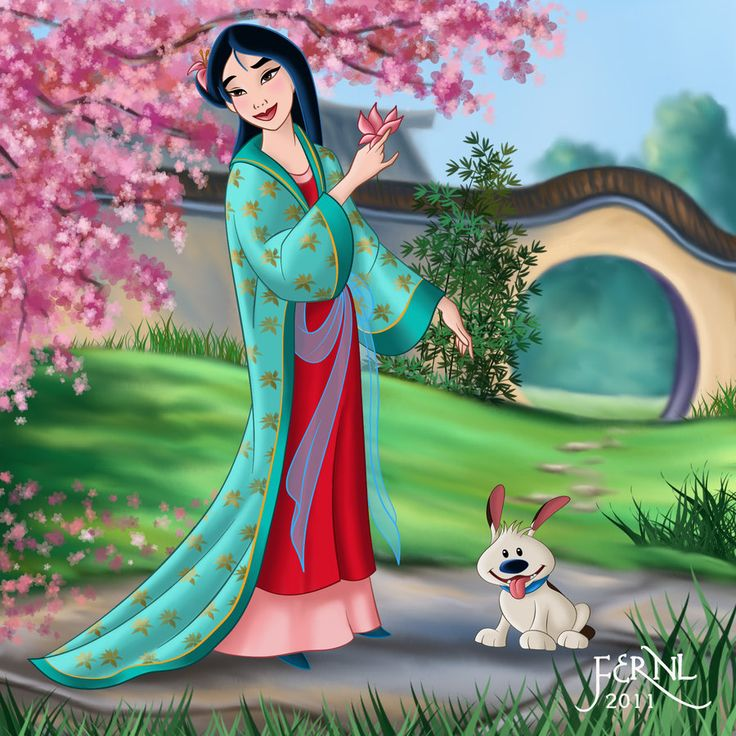 Mulan Artwork | mulan 3 by fernl fan art cartoons comics digital movies tv 2011 2014 ...