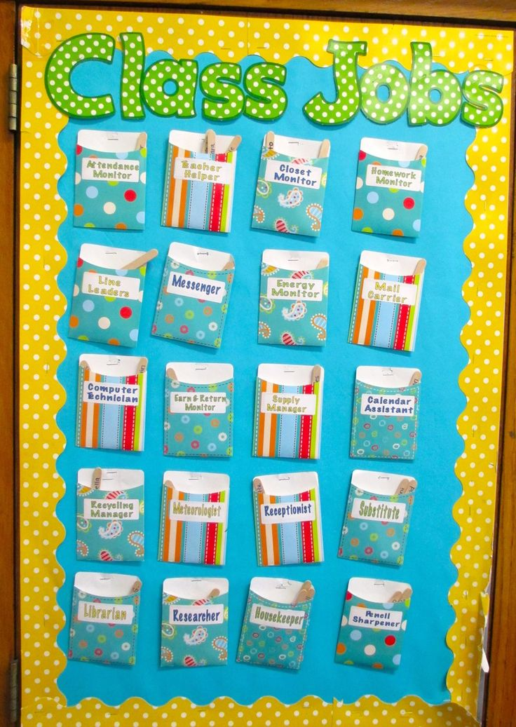 Classroom Job Ideas Elementary : Best images about class display ideas on pinterest