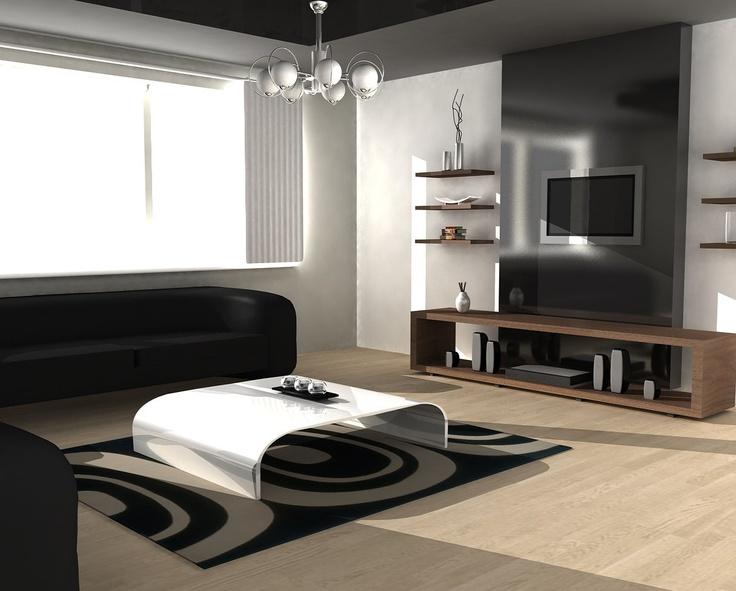 Marvelous Diseño Minimalista Para Una Sala · Modern Living Room DesignsContemporary  ...