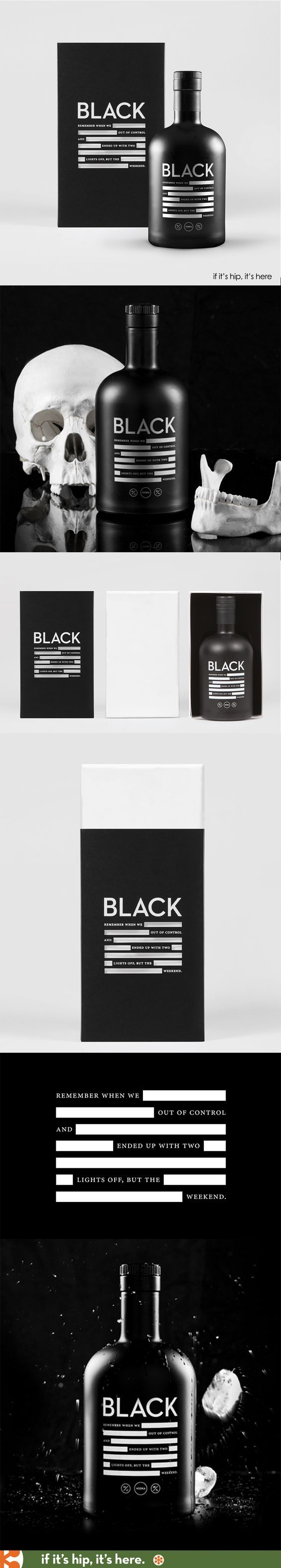 Black Vodka Packaging by Anti | Fivestar Branding Agency – Design and Branding Agency & Curated Inspiration Gallery