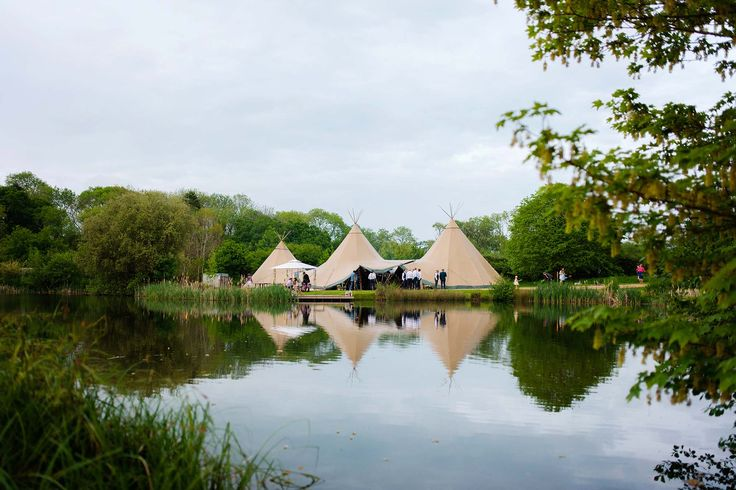 A Tipi Wedding in Sussex