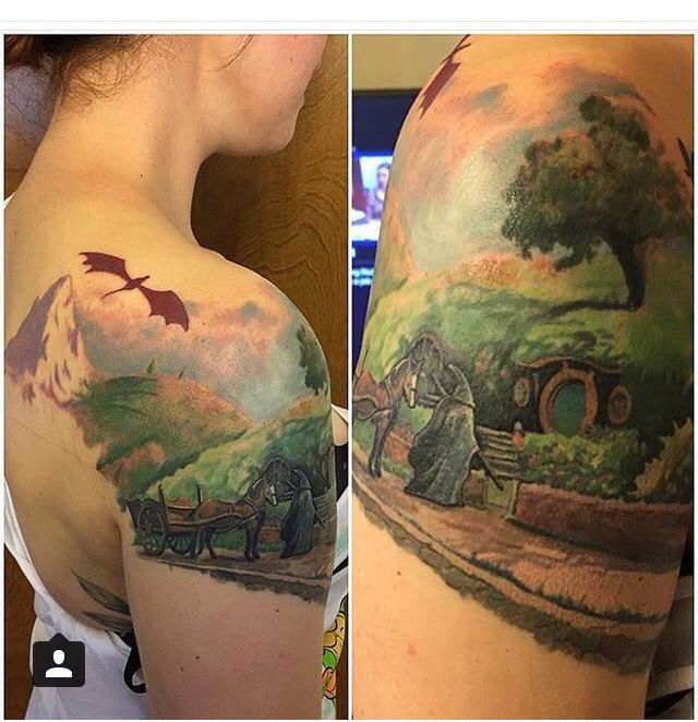 Best 25 Hobbit Tattoo Ideas On Pinterest Tolkien Tattoo