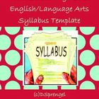 In this download, you will get two syllabi that I created for both a freshman and sophomore English course. The following sections are included: - ...