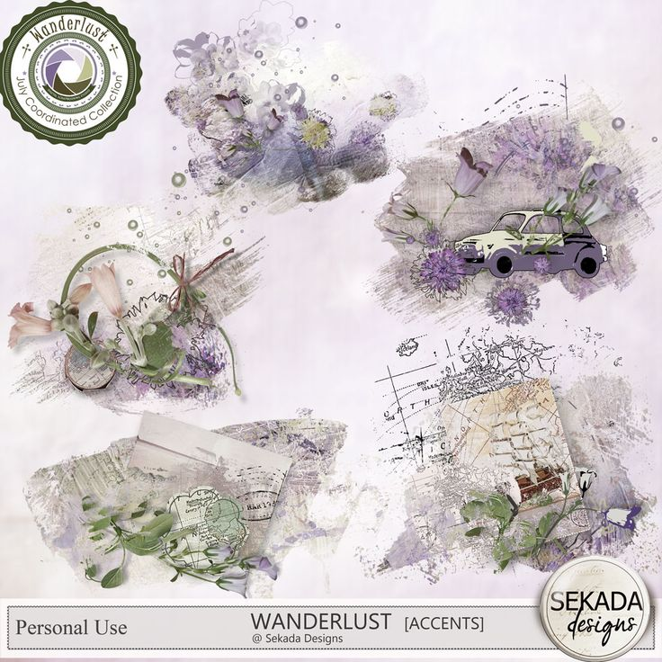 Personal Use :: Element Packs :: Wanderlust - Accents