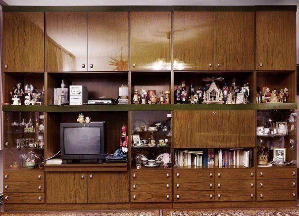 Интерьеры советских квартир 80-90-х годов (1)