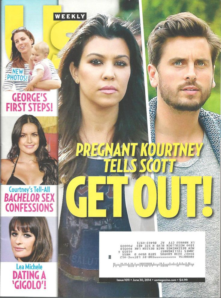 Kourtney Kardashian Prince George Kate US Magazine June 30, 2014