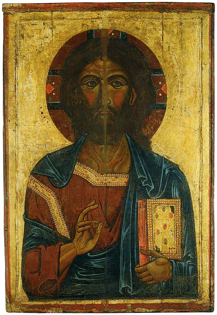 Pantocrator. 1250-1300. Rublëv Museum of Early Russian Art. Moscow