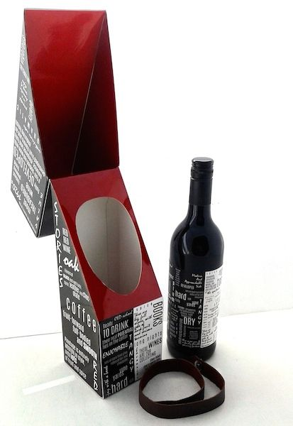 Direct Mailer - Personalized Wine Set on Behance