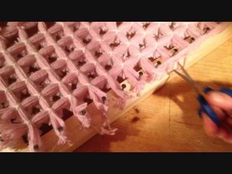 how to make aboriginal loom