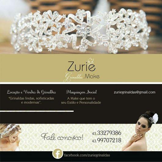 Locação e Venda de Acessórios para noivas e debutantes, como: Grinaldas (tiaras, coroas, e fitas) e semi joias. Agende seu atendimento personalizado! Wh... - Zurie Grinaldas - Google+
