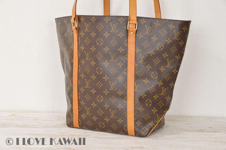 Louis Vuitton Monogram Sac Shopping Tote Shoulder Bag M51108