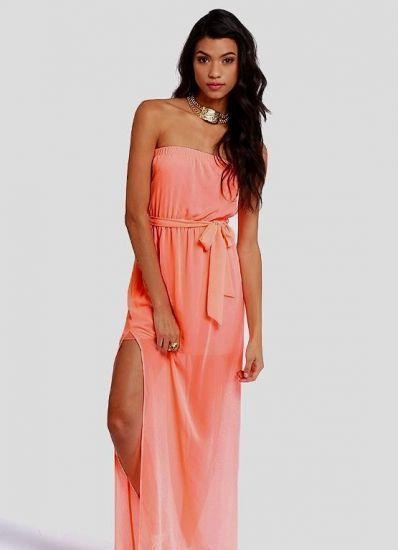 Best 25+ Coral maxi dresses ideas on Pinterest