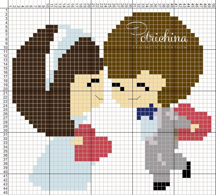 wedding - bride - sposi - matrimonio - schema punto croce  - cross Stitch - Kreuzstich - Punto de Cruz