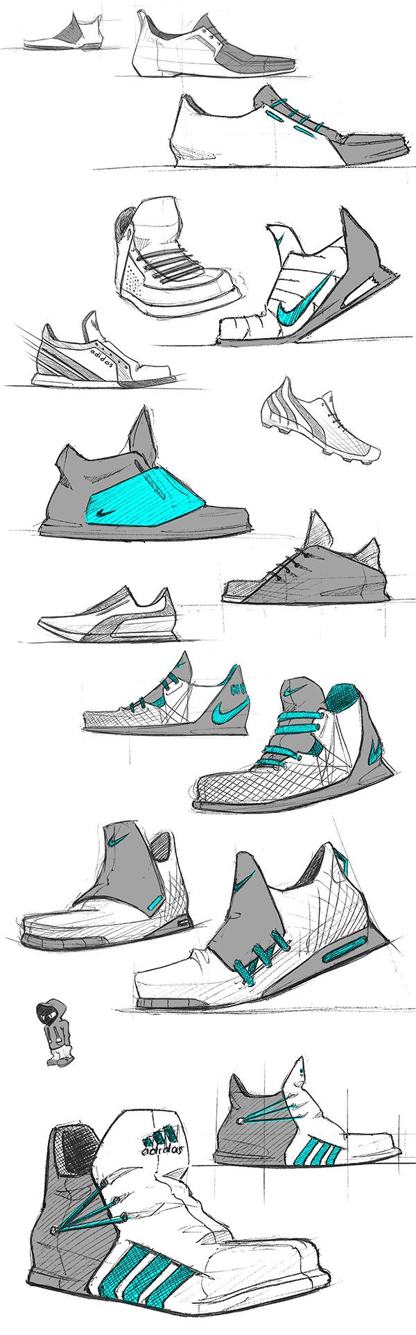 product design sketches shoes wwwimgkidcom the image