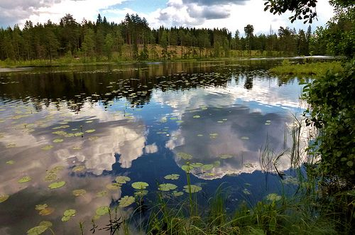 Clouds in the water!   PLEASE SEE AND LIKE MY PAGE AND DONT MIND TO SHARE,https://www.facebook.com/stefansphotos.se