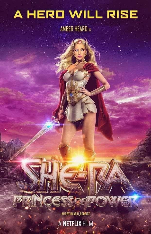 American Actress Amber Heard As She Ra Movie She Ra Princess