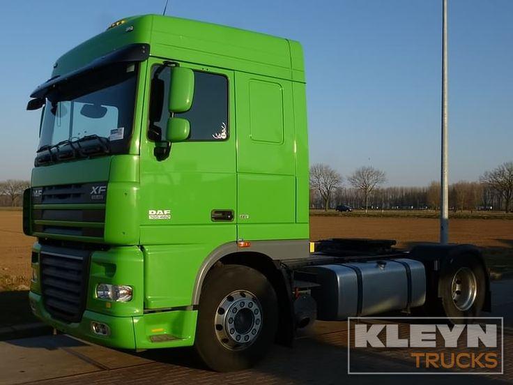 For sale: Used and second hand - Tractor unit DAF XF 105.460  #roadtransport #daftrucks #trucks #logistics #fleetmanagement #kleyntrucks