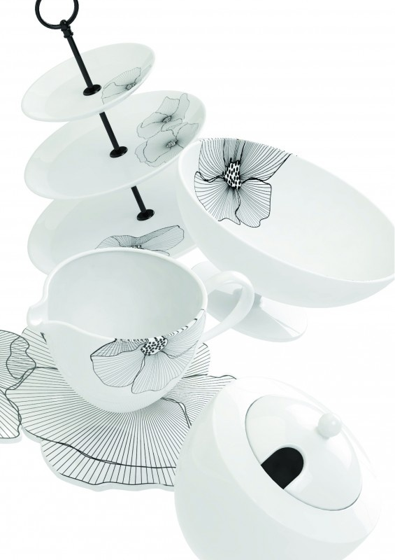 Salt & Pepper Poppi servies