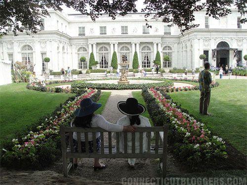 Rosecliff Mansion Newport Rhode Island  #VisitRhodeIsland