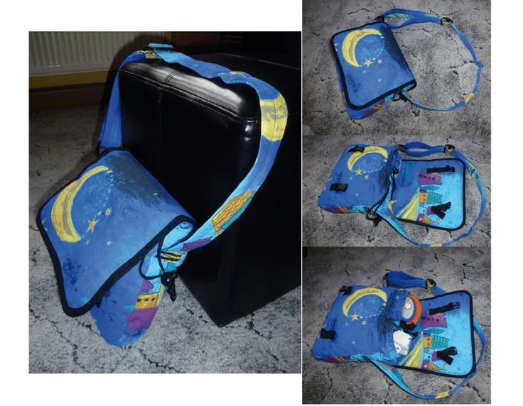 selber genäht, Kindertasche, Tasche für MOBIGO mit Fach für Steckspiele und Ersatzakkus, gepolstert, eigenes Schnittmuster