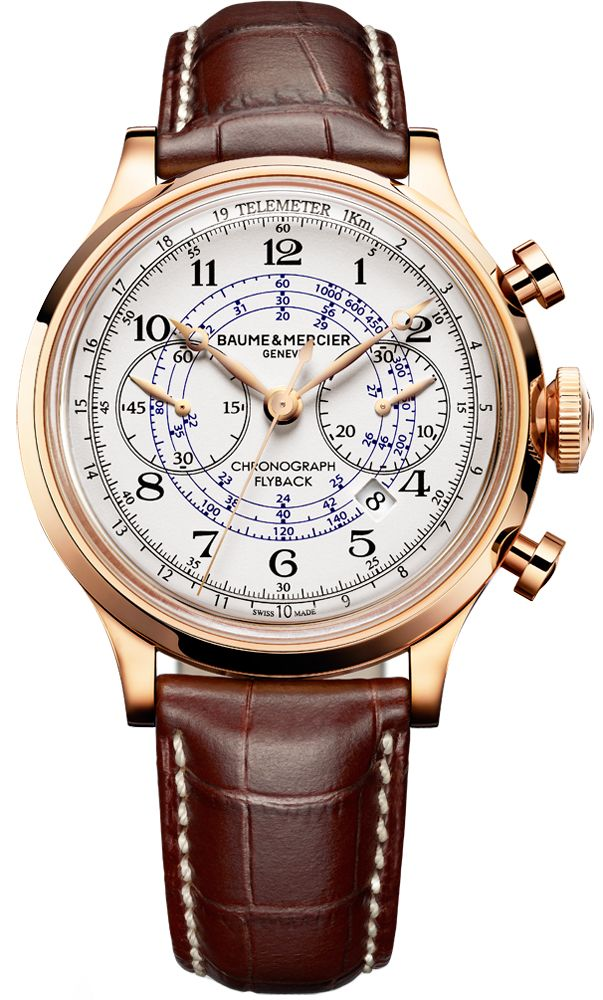 Baume & Mercier Capeland Flyback Chronograph 44mm 10007