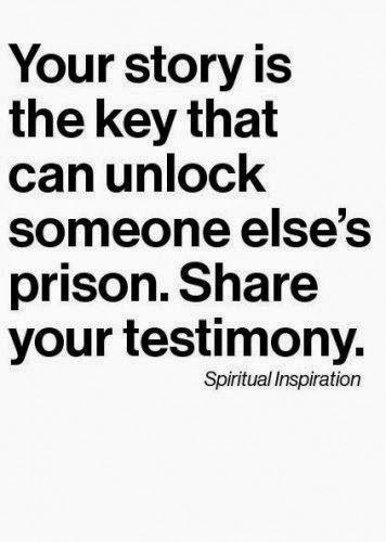 Sharing Your Testimony {Blessings n' Sweet Tea blog}