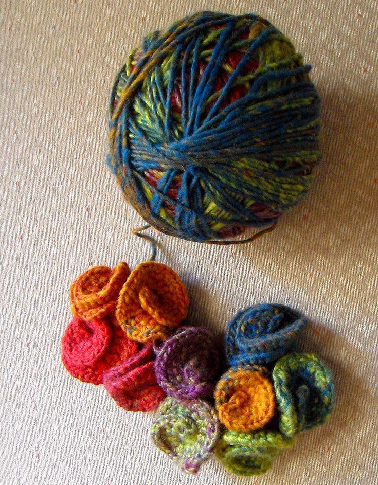 Tutorial: Hyperbolic crochet sculpture in progress: Fiber Art Reflections