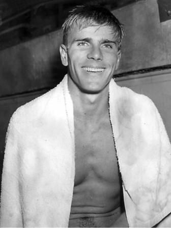 Murray Rose won the 400 metres and 1500 metres freestyle at the 1956 Melbourne Olympic Games
