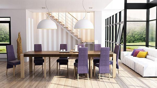 23 Purple Dining Room Designs Decorating Ideas: Best 25+ Purple Dining Rooms Ideas On Pinterest