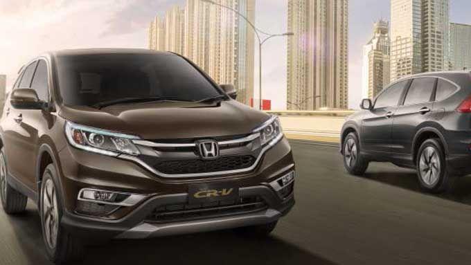 Exterior Honda CR-V