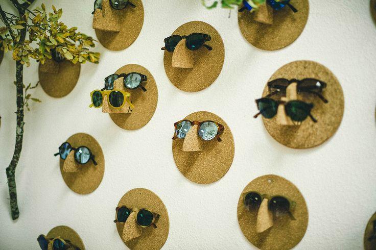 Zum Selbermachen: Brillen-Halter aus Kork Topfuntersetzer