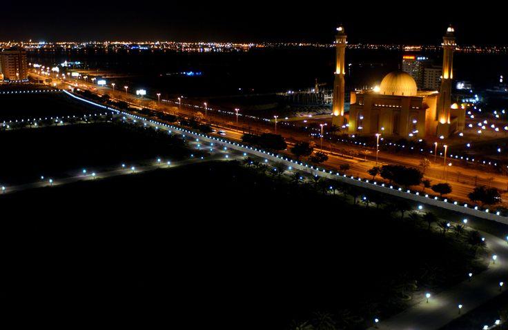 Größte sunnitische Moschee al-Fatih in Manama // Grand mosque in Bahrain ◆Bahrain – Wikipedia https://de.wikipedia.org/wiki/Bahrain #Bahrain