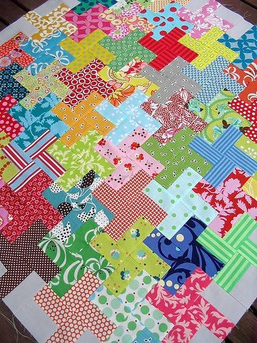 """Love scrap quilts. I actually think they have more """"LOVE"""" in them because you know that the quilter lovingly saved all her scraps from old dresses, shirts, sheets, etc. Lots of history and love in scrap quilts."""