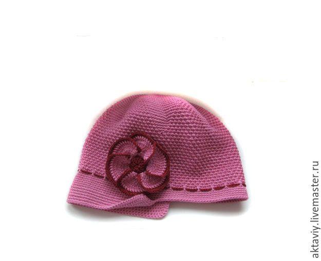 Купить Шапочка для девочки - шапка вязаная, кепка для девочки, кепка крючком, кепка женская