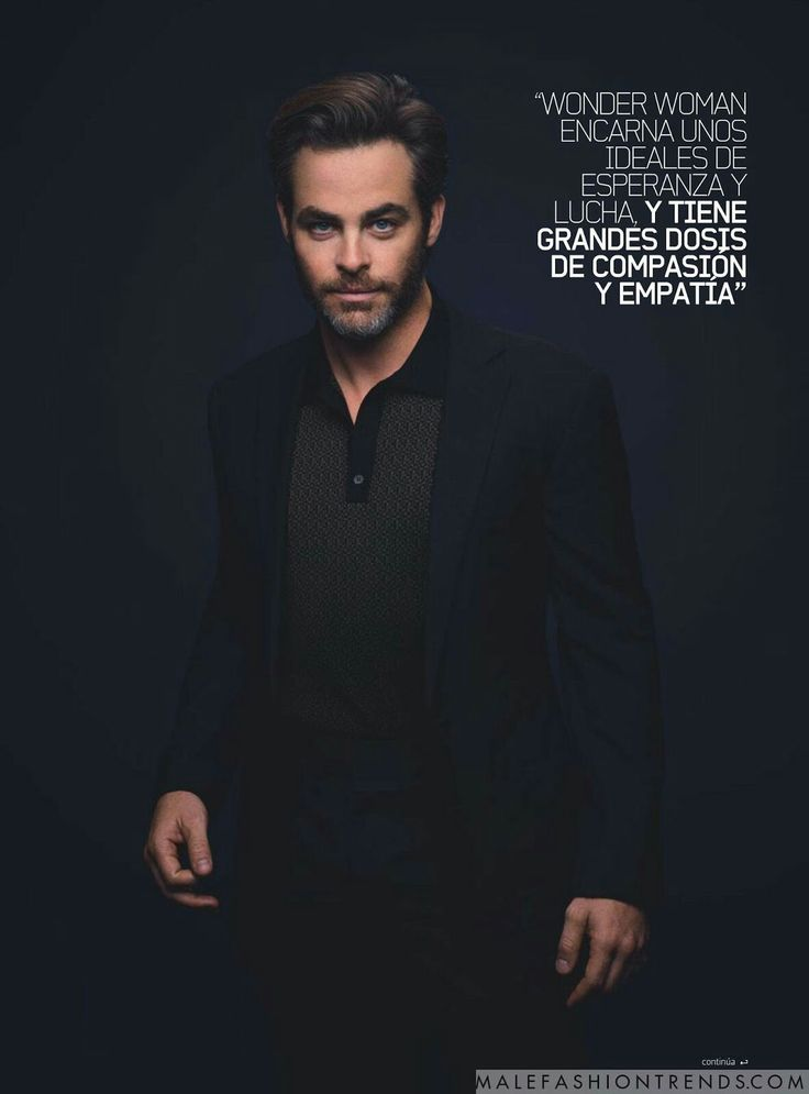 Chris Pine for DT Lux Magazine by Brian Bowen Smith