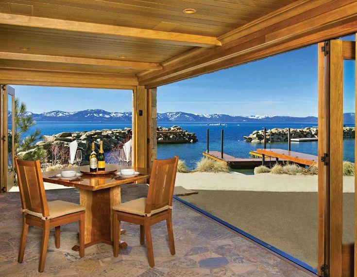 Casa di lusso di Larry Ellison, CEO di Oracle, sul Lago Tahoe | lussocase.it