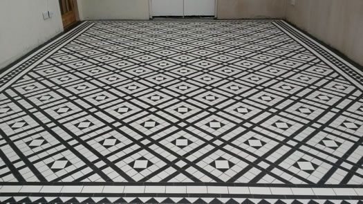 Victorian Tiling from Tracs Tiling Bedford