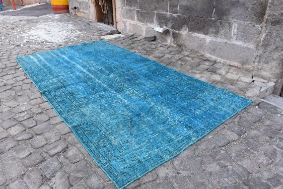 Etsy Vintage Deco Rugs   the central Anatolian in Turkey