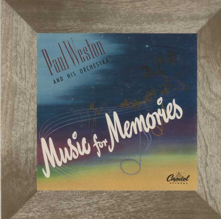 Paul Weston And His Orchestra - Music For Memories
