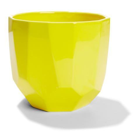 geometric Pot Yellow gardeners Choice