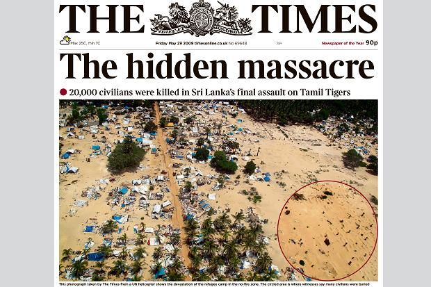The horror of Sri Lanka's killing fields caught on camera