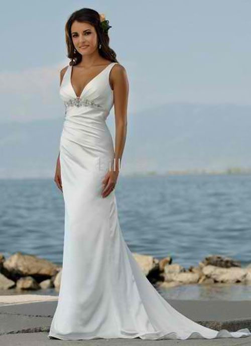 Image Detail for - simple-white-beach-wedding-dresses | Wedding Gowns, Fashion and ...
