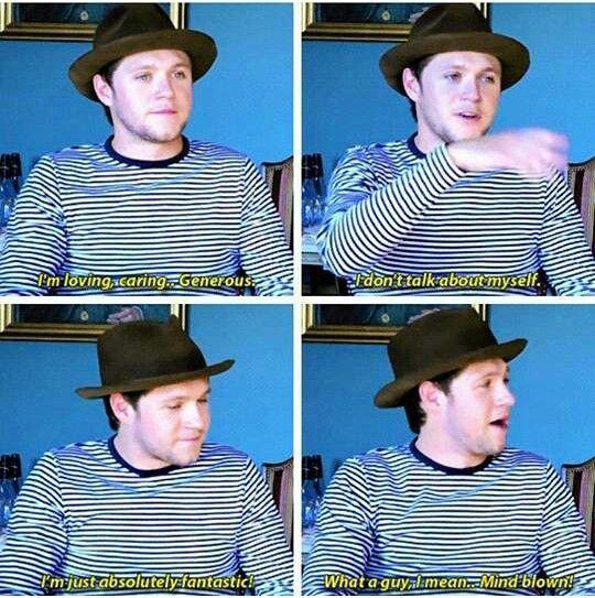 Lol Niall we get it