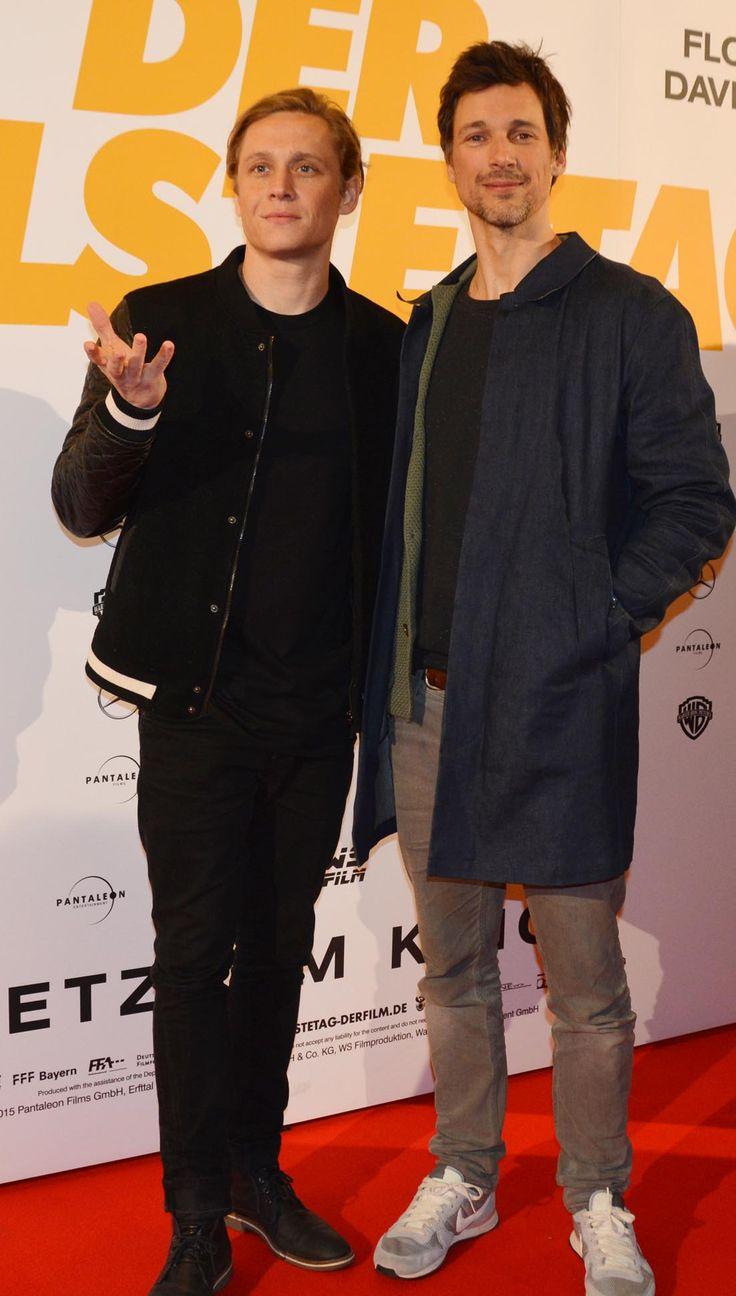 Matthias Schweighöfer und Florian David Fitz: Kreischalarm in der Lichtburg Essen