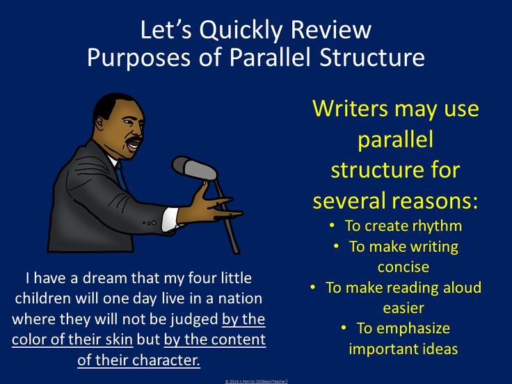 Parallel Sentence Structure Worksheets With Answers on Latest Parallelism In Writing